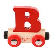 Rail Name Letter B (Colors Vary)
