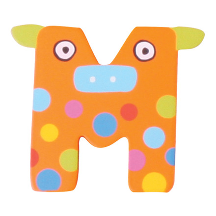 Crazy Animals Letter M (One Supplied - Designs Vary) picture