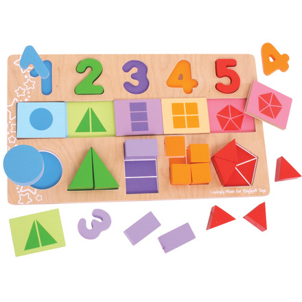 My First Fractions Puzzle picture