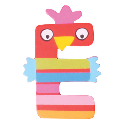 Crazy Animals Letter E (One Supplied - Designs Vary) picture
