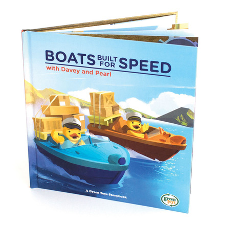 Boats Built for Speed Storybook picture