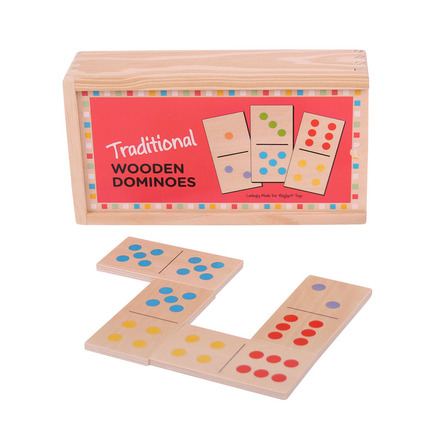 Traditional Wooden Dominoes picture