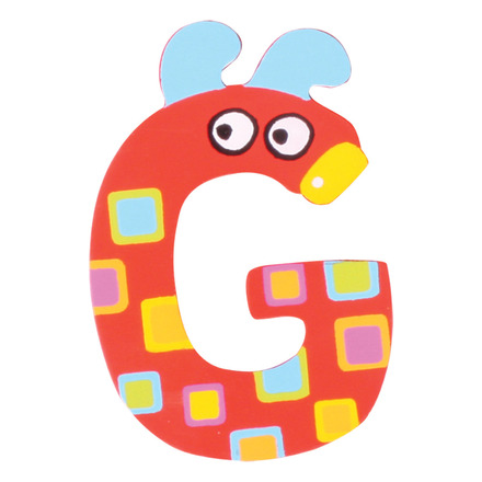 Crazy Animals Letter G (One Supplied - Designs Vary) picture
