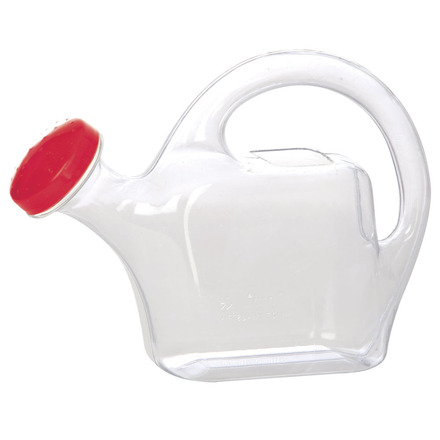 Watering Can Classic - Clear (Red) picture
