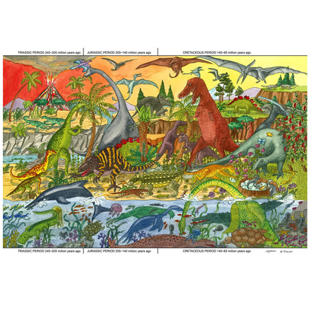 Dinosaur Floor Puzzle (48 Piece) picture