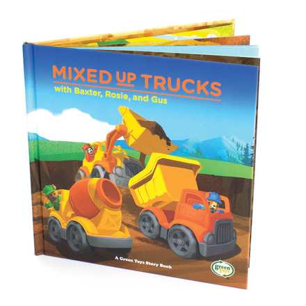 Mixed-Up Trucks Storybook picture