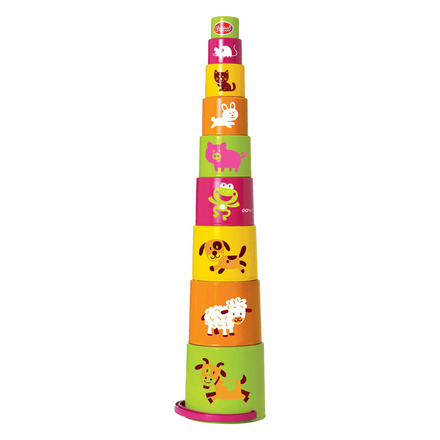 Animal Stacking Cups picture