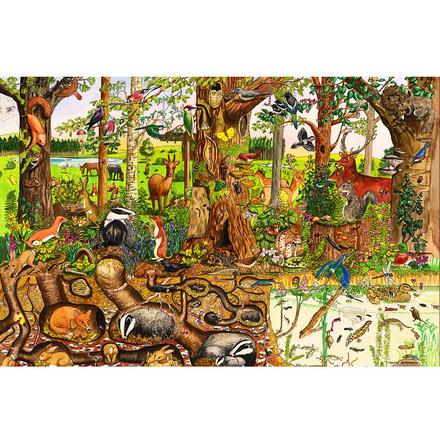 Woodlands Floor Puzzle (24 Piece) picture
