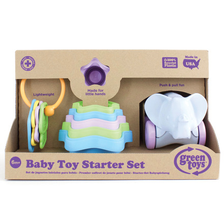 Baby Toy Starter Set (First Keys Stacking Cups & Elephant) picture