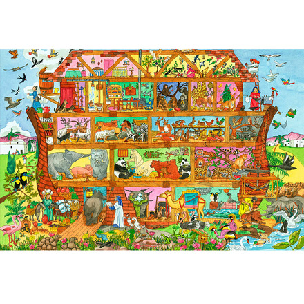 Noah's Ark Floor Puzzle (48 Piece) picture