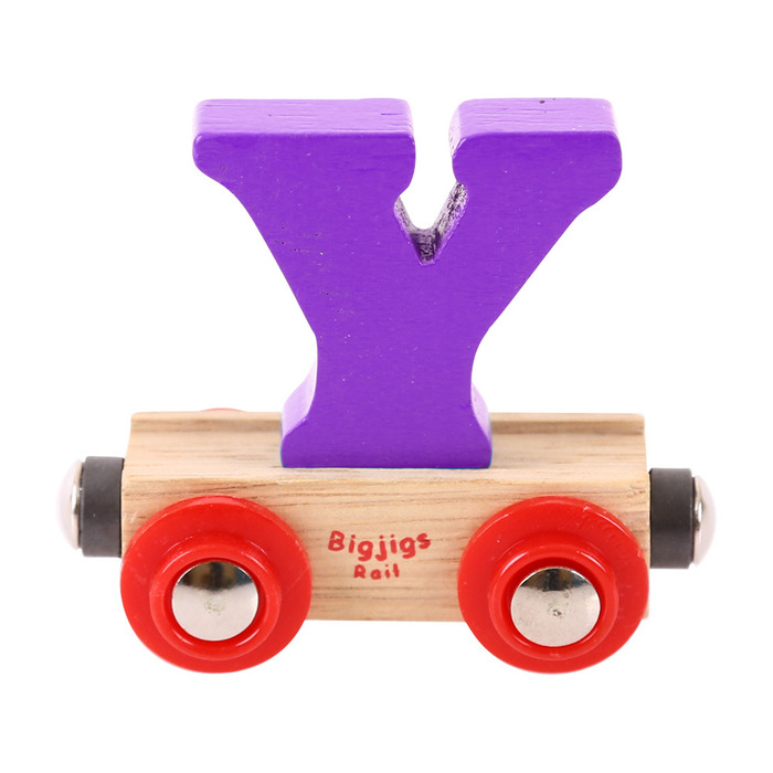 Rail name letter y purple official bigjigs toys wooden toys rail name letter y purple picture sciox Images