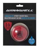 STREET HOCKEY BALL LIQUID FILLED 65MM 65G HARD RED (CARDED)