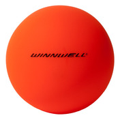 STREET HOCKEY BALL 65MM 50G MEDIUM ORANGE