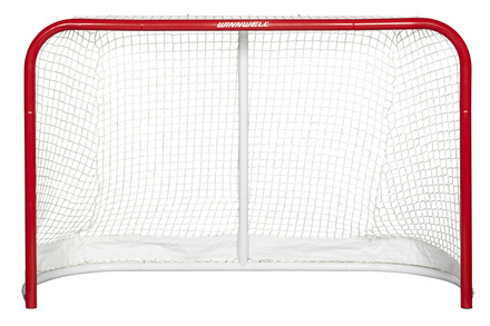 "HOCKEY NET 72"" W/ 2"" POSTS & SKATEGUARD picture"