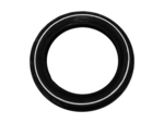 Replacement Tire Slick w/White Striping- BERG Buddy Orange & Buddy White