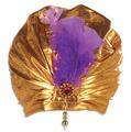 Fabric Sultan Hat