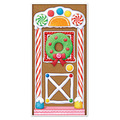 Gingerbread House Door Cover