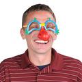 Clown Glasses w/Nose