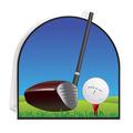 3-D Golf Centerpiece
