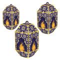 Foil Ramadan Paper Lanterns