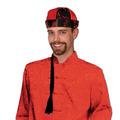 Mandarin Hat w/Braid