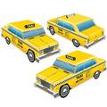 3-D Taxi Cab Centerpieces