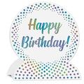 3-D Happy Birthday Centerpiece