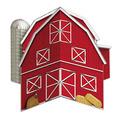 3-D Barn Centerpiece