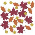 Fall Leaf Deluxe Sparkle Confetti