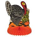 Vintage Fall Harvest Turkey Centerpiece