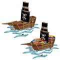 3-D Pirate Ship Centerpiece