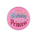 Birthday Princess Satin Button