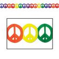 Peace Sign Garland
