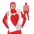 """Plastic Card """"Suit"""" Vest"""