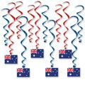 Australian Flag Whirls