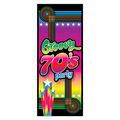 70's Groovy Party Door Cover