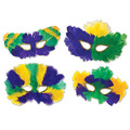 Mardi Gras Fanci-Feather Masks