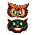 Owl & Cat Masks