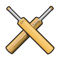 Cricket Bats Cutout