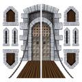 Castle Door & Window Props