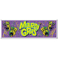 Mardi Gras Sign Banner
