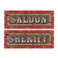 Saloon Sign Cutouts