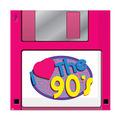 90's Floppy Disk Luncheon Napkins