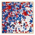 Red, White & Blue Stars Confetti
