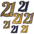 """""""21"""" Foil Cutouts"""