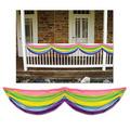 Spring Rainbow Fabric Bunting