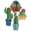 3-D Cactus Centerpieces