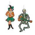 Vintage Halloween Jointed GoGo Dancers