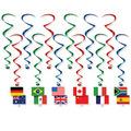 International Flag Whirls