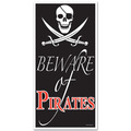 Beware Of Pirates Door Cover